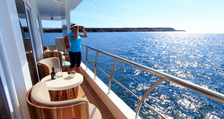 Galapagos Cruise Luxury Terrace
