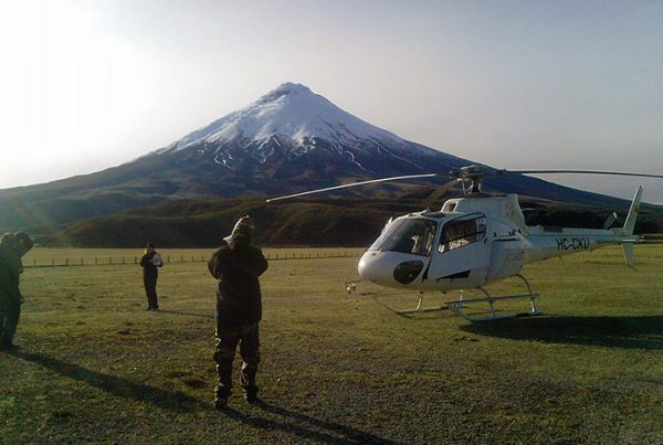 Cotopaxi Helicopter